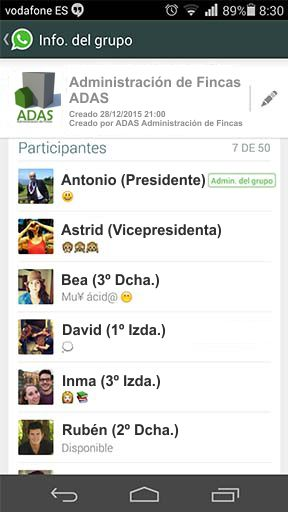 ADAS-Whatsapp